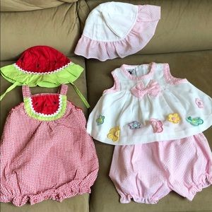 baby okee dokie Matching Sets - ❤️Five pieces ❤️ Baby girls